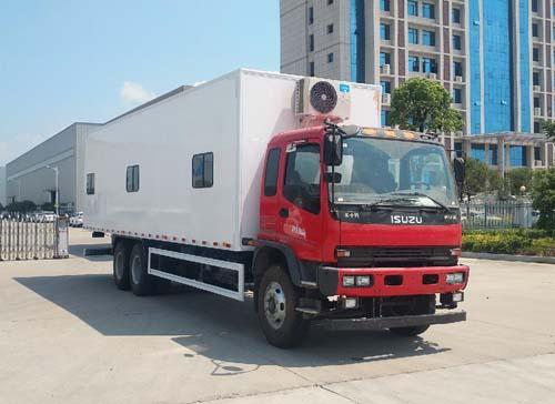 专威牌HTW5250XLYQ型淋浴车