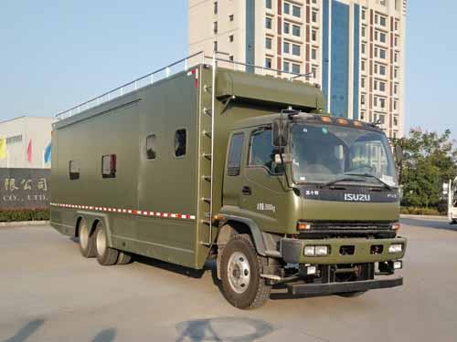 专威牌HTW5250TSYQ型宿营车