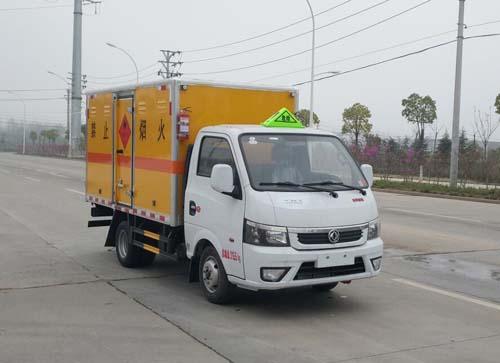 万博网页版登录首页途逸易燃气体厢式运输车