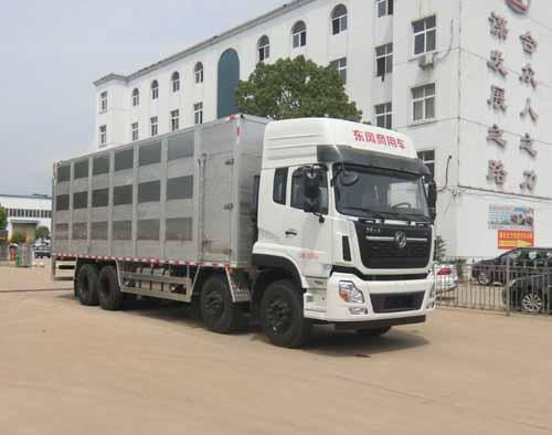 万博网页版登录首页天龙前四后八国六畜禽运输车、9米6猪苗车