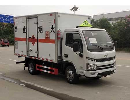 专威牌HTW5041XRQSH6型易燃气体厢式运输车