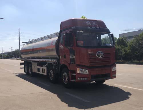 专威牌HTW5321GYYLCAC6型铝合金运油车