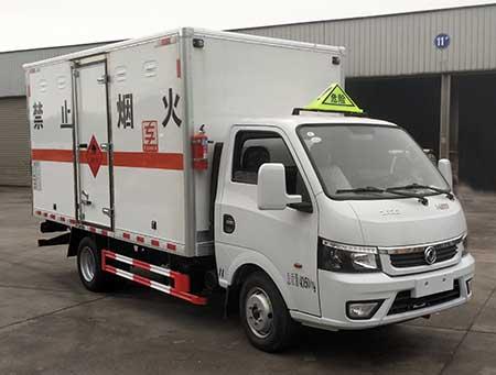 专威牌HTW5040XRQE6型易燃气体厢式运输车