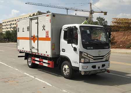 专威牌HTW5041XQYE6型爆破器材运输车