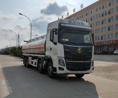 专威牌HTW5327GYYLZQ6型铝合金运油车