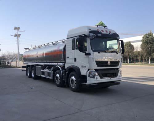 专威牌HTW5320GYYLZZ6Q型铝合金运油车