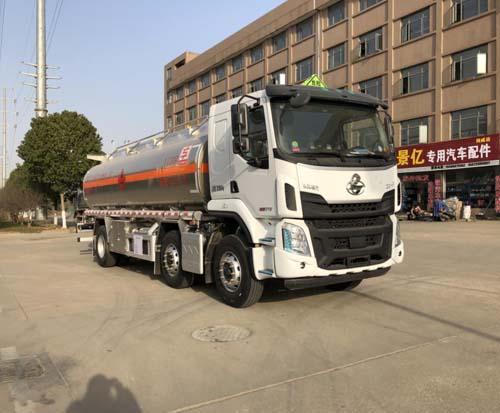 专威牌HTW5267GYYLLZQ6型铝合金运油车