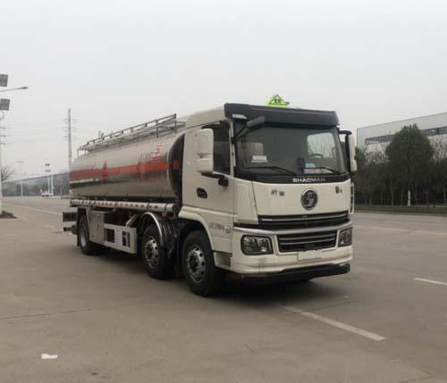 专威牌HTW5262GYYLS6Q型铝合金运油车